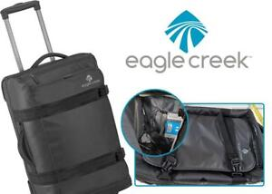 NEW Eagle Creek No Matter What Flatbed 22 Inch Carry-On Luggage Condtion: New, Black