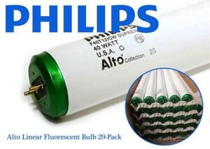 NEW Philips 423889 F40T12/CW Supreme/Alto Linear Fluorescent Bulb 29-Pack Condtion: New