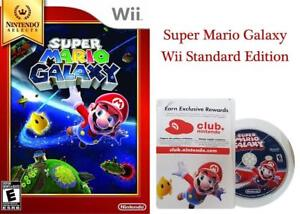 NEW Nintendo Selects: Super Mario Galaxy - Wii Standard Edition Condtion: New