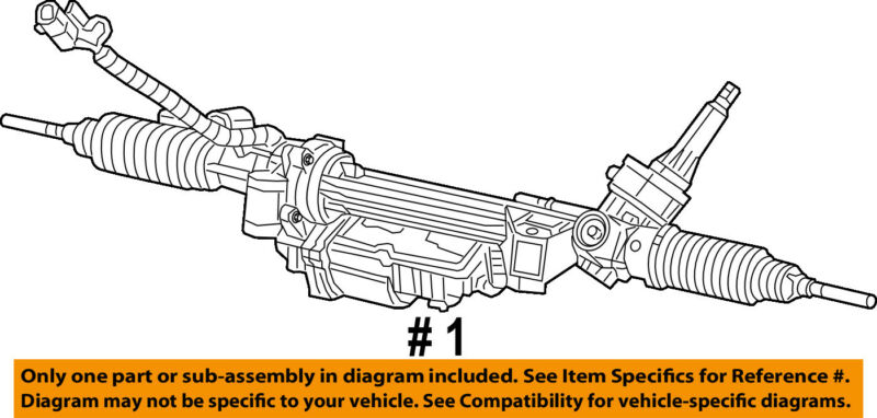 Chrysler Oem-rack And Pinion Complete Unit 5154826ai