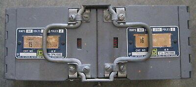 Square D Df 0622 Disconnect Switch 60 Amp 250 Vac 2 Poles