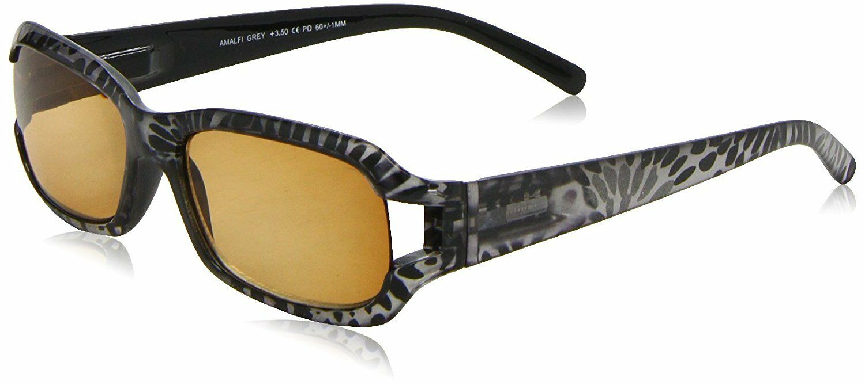 Sight Station Amalfi Grey Reading Sunglasses Glasses Strength +1.00 UK SELLER
