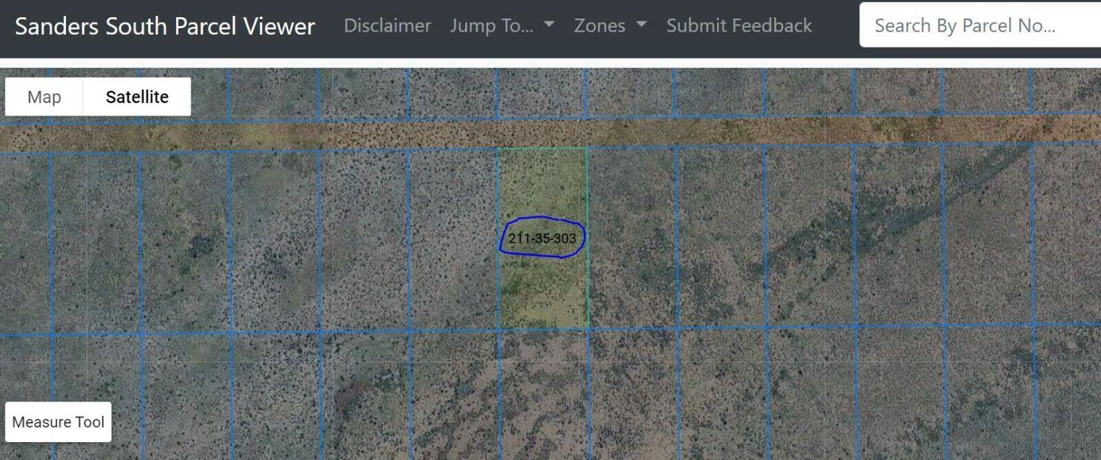 No Reserve Beautiful Home Site Visit Via Adamana Rd. Apache County 1.04 Acres - $192.50