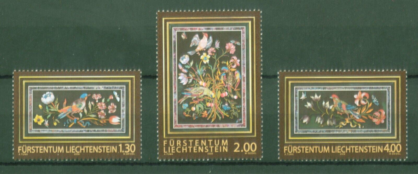 Liechtenstein 2009 - Fürstliche Schätze - Badminton Cabinet Barock - Nr. 1525-27