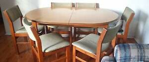 Good Condition Dining Table with 4 Chairs for Sale Wiley Park Canterbury Area Preview