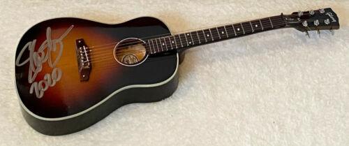 Slash AUTOGRAPH Signed Axe Heaven Gibson J-45 November Burst Mini Guitar