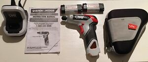 Black and Decker cordless electric screwdriver    Drill