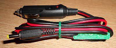 Yaesu FT817 FT817ND power lead  with fused 12V 'cigar' plug and marker (LD101)
