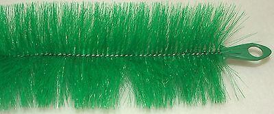 Laichbürste 130 x 15 cm grün Ablaichbürste Laichschnüre verlängerbar Koi Teich
