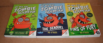 My Big Fat Zombie Goldfish Vol. 1,2,3 by Mo O'Hara Paperback