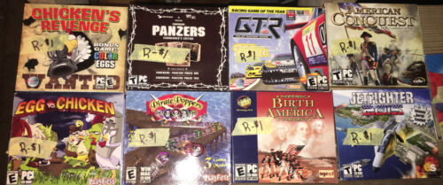 Computer Games - computer game lot Of 9 Games