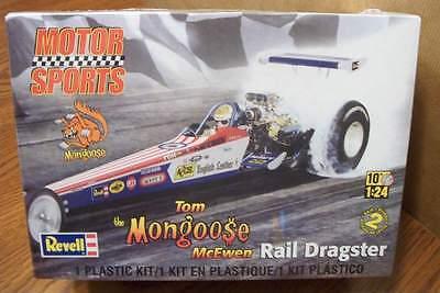 Revell Tom Mcewen 'the Mongoose' Rail Dragster 1/24 Scale Model Kit