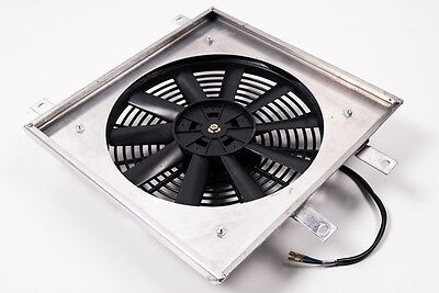 HONDA CIVIC ALUMINIUM RADIATOR RAD FAN SHROUD 92 00 ALL