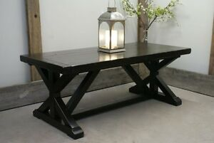 Solid Wood Chateau Trestle Dining Table- by LIKEN Woodworks