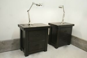 LIKEN woodworks: reclaimed wood side tables. Various styles.