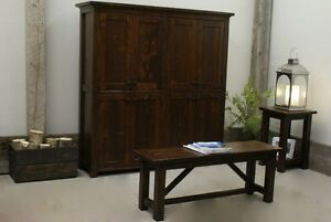 French Antique Casement Cabinet / Bookshelf. Choice of Colors! By LIKEN Woodworks