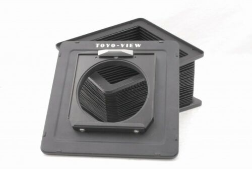 Toyo View 4x5 Lens Board Adapter and Standard Bellows *V978
