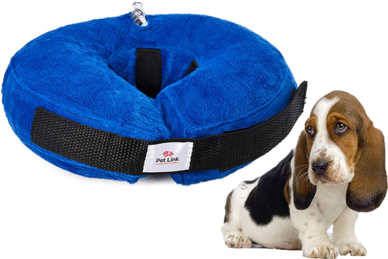 Inflatable Dog Collar, Recovery Cone, After Pet Surgery, Pre