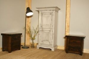 Reclaimed Wood Furniture: Small Farmhouse Armoire $1395 by LIKEN Woodworks