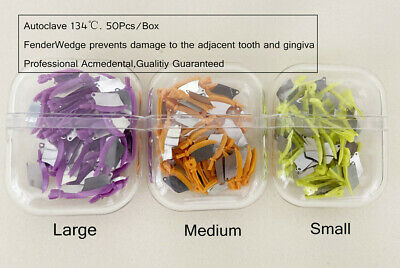 Dental Matrix Fender Wedges Prep Interproximal Diastema Wedge Guard Lms 50box