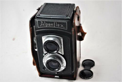 "[RARE ! 1952] ""VINTAGE"" AlpenflexI6x6 TLR Camera /7.5cm F3.5 ""FULLY WORKS"""