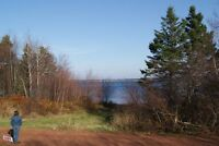 Two Cottage lots one row back of shore front Donaldston, PE