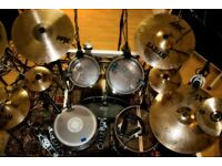 Professional and experienced session drummer at a competitive rate!