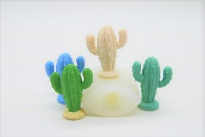 3D thorny Cactus, Silicone Mold Chocolate Polymer Clay Jewelry Soap Wax Resin