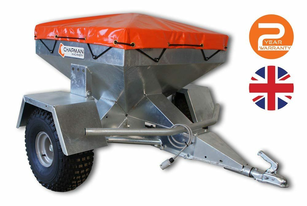 TF350 Trailed Sheep Snacker Feeder, Galvanised, Electric Drive - RRP 1,650 +VAT