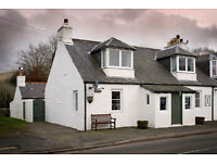 Three bedroom end terraced cottage with large garden and outhouses