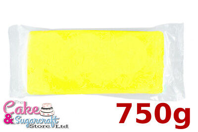Sugarpaste Icing Yellow M&B Ready to Roll Luxury Professional Discount price