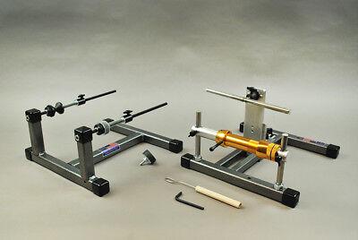 Reel Winder III + Super Spooler Line Holder for re-spooling reels