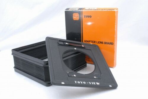 Toyo View 4x5 Lens Board Adapter , Standard Bellows *Y83
