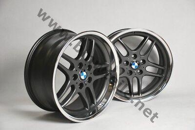 BMW E39 M5 Felgen Styling 37 M Parallelspeiche Alufelgen 18 Zoll E38 E36 M-Paket, gebraucht gebraucht kaufen  Blankensee