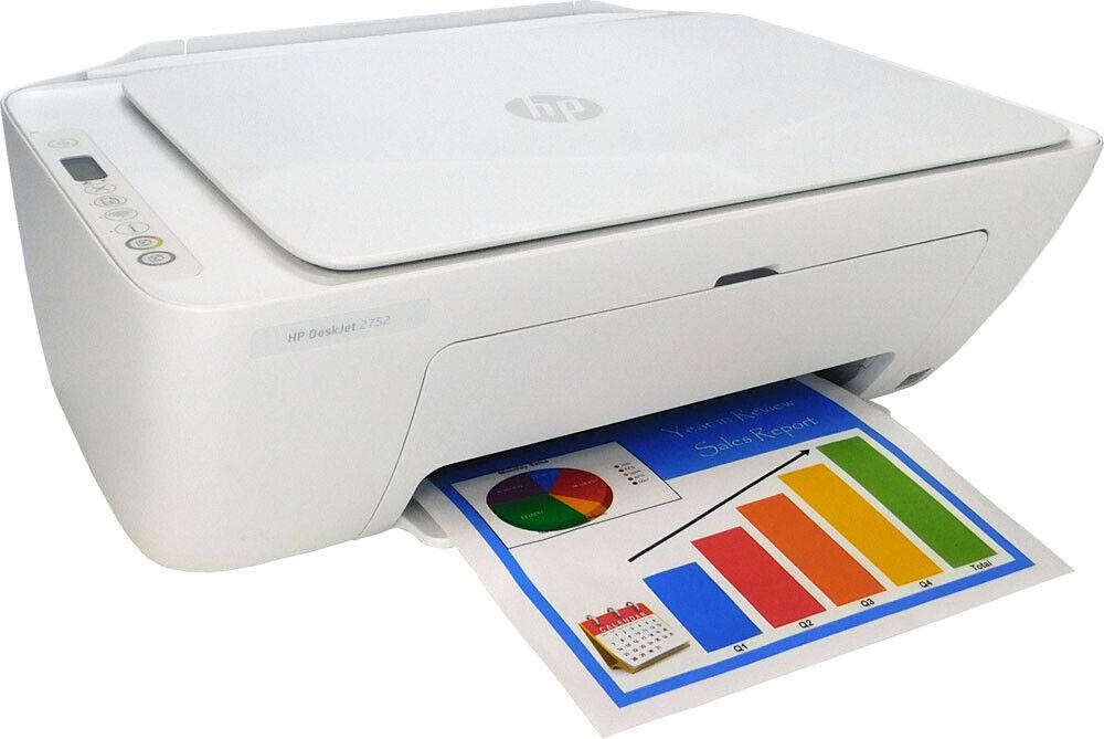 HP DeskJet 2752 Wireless All-in-One Color Inkjet Printer