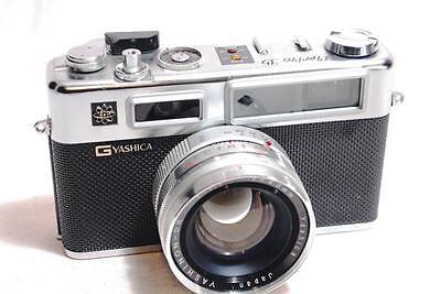 """RARE ""G"" Model 1968"" Yashica Electro 35 G Rangefinder Film Camera ""READ"""