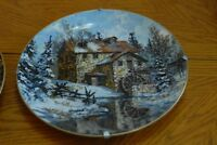 Collector Plates - Set of 2 by artist JL Kierstead