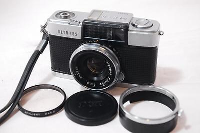 """VINTAGE"" [EXC+++] Olympus PEN-D 35mm Half Frame Film Camera"