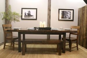 Aged Wood Provenu00E7al Dining Table starting @ $1595- by LIKEN