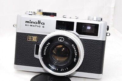 Пленочные фотокамеры (4075) Minolta Hi-Matic E