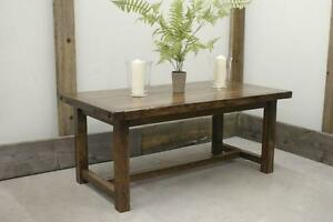 Rustic Solid Wood Dining Table and more! By LIKEN Woodworks
