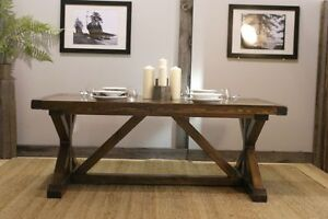 Rustic Harvest Dining Table $2195 & more! By LIKEN Woodworks