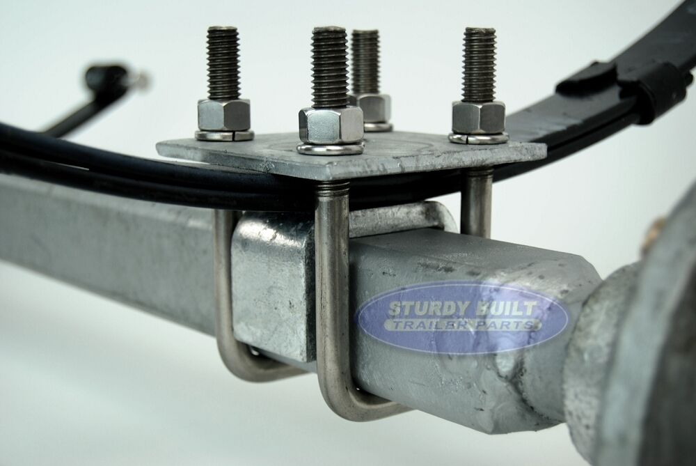 """Boat Trailer Axle Galvanized 72.5/"""" Hub Face 2/"""" Square Hot Dipped 2,200lbs"""