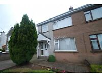 3 BED SEMI, GALGORM, BALLYMENA Paved driveway for 3 cars plus detached garage. MUST BE VIEWED.