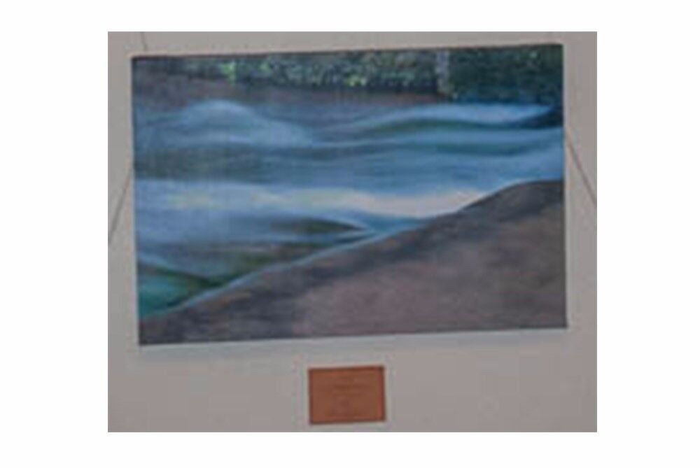 780x480mm Canvas Print, Flowing Water