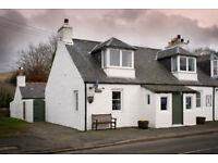 Three bedroom end terraced cottage