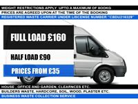 Man & Van. Rubbish and waste removal service. House, office and garden clearances, short notice 24/7