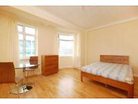 Studio flat in Warren Court, London, NW1 3AA