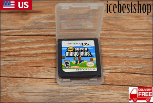 Super Mario Bros Game Card For Nintendo 3DS DSI DS XL Lite C