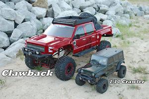 REDCAT RACING 1/5 Scale CLAWBACK 4WD 4X4 Rock Crawler RC Truck + BONUS LIPO KIT